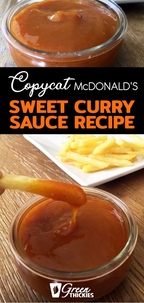 McDonalds Curry Sauce Recipe