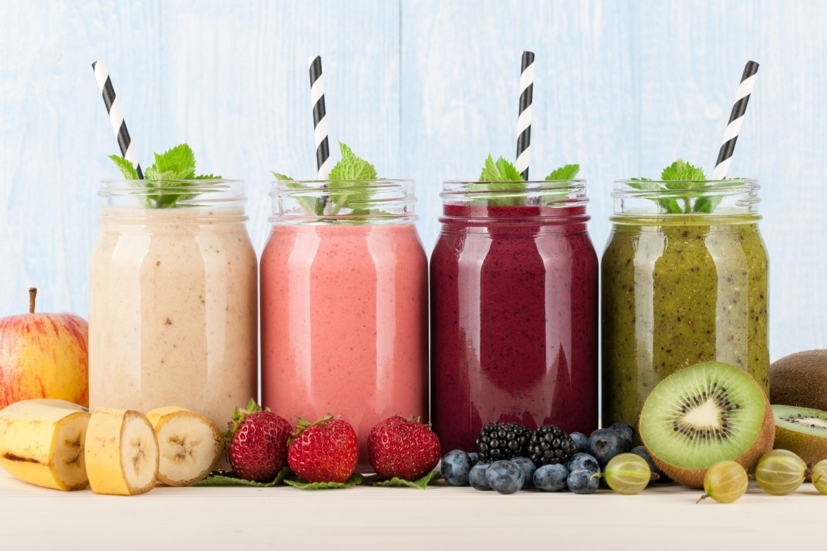 28 Smoothie Snack Recipes To Rev Up Your Metabolism; Smoothies, fruits and berries