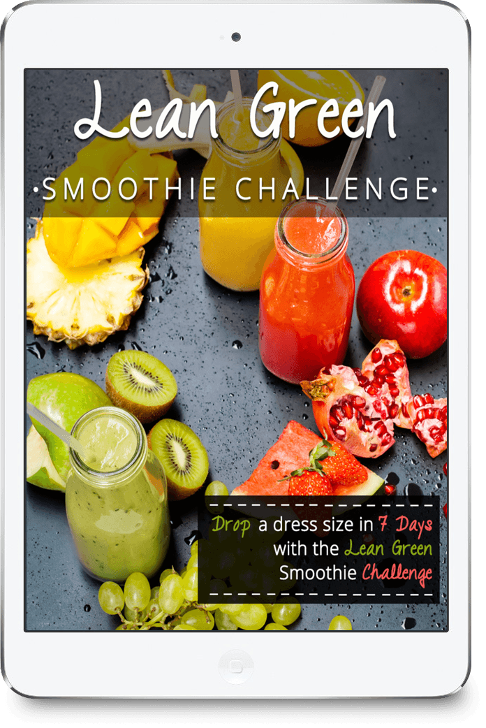 Lean Green Smoothie Challenge - ipad