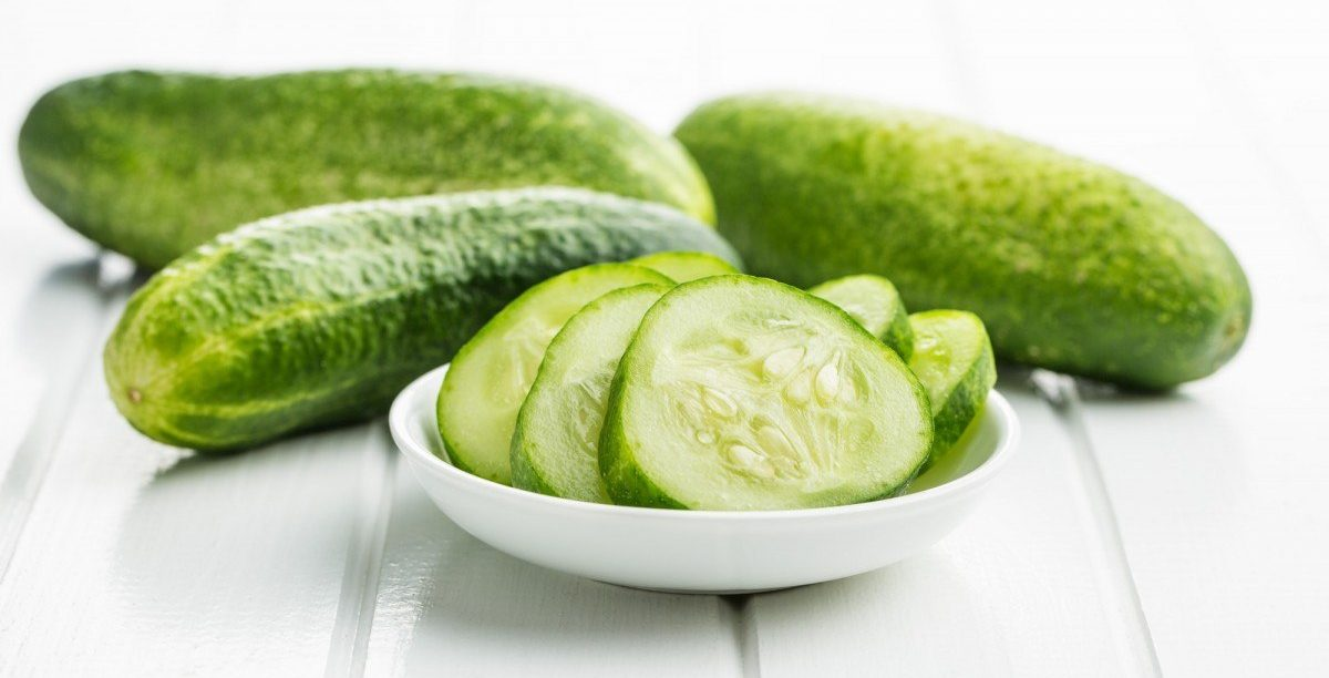 35 Best Smoothie Ingredients For Weight Loss (List & Recipes); Sliced green cucumbers.