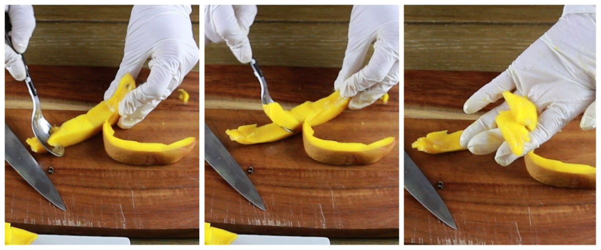 How To Eat A Mango (4 Ways) - 2