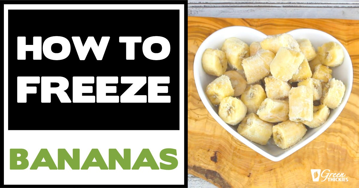 How To Freeze Bananas (3 Quick Ways)